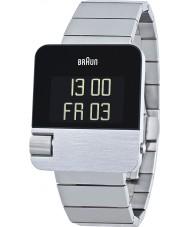 Braun BN0106SLBTG Mens Prestige Silver Tone Chronograph Watch