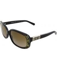 Michael Kors MK6011 56 Delray Green Snake 301713 Sunglasses