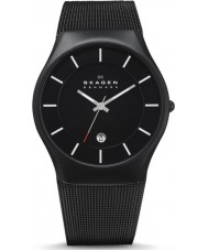 Skagen 956XLTBB Mens Aktiv Black Titanium Watch