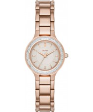 DKNY NY2393 Ladies Chambers Rose Gold Plated Bracelet Watch