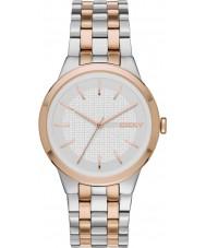 DKNY Ladies Park Slope Two Tone Steel Bracelet Watch