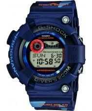 Casio GF-8250CM-2ER Mens G-Shock Blue Camo Solar Powered Worldtime Watch