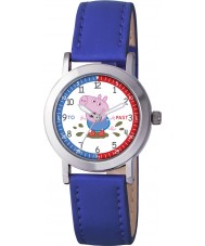 Peppa Pig PP008 Boys Time Teacher Watch with Blue PU Strap
