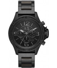 Armani Exchange AX1520 Mens Black IP Bracelet Chronograph Sports Watch