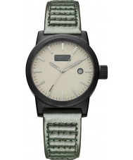 Barbour BB024BKGR Mens Halsted Green Leather Strap Watch