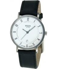Boccia B3154-06 Ladies Titanium Leather Strap Watch