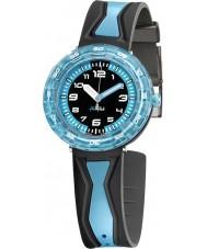 Flik Flak FCSP016 Boys Get It In Blue! Two Tone Watch