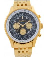Krug-Baumen 600103DSA Mens Air Traveller Diamond Automatic Watch