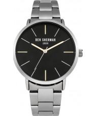 Ben Sherman WB054BSM Mens Silver Steel Bracelet Watch