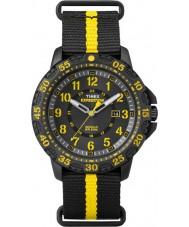 Timex TW4B05300 Mens Gallatin Black Nylon Strap Watch