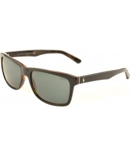 Polo Ralph Lauren PH4098 57 Casual Living Top Black on Jerry Tortoise 526087 Sunglasses