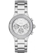 DKNY NY2394 Ladies Chambers Silver Steel Bracelet Watch