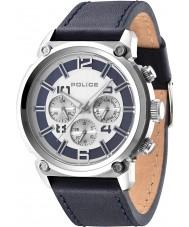 Police 14378JS-04 Mens Armor Dark Blue Watch