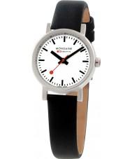 Mondaine A658-30301-11SBB Evo Petite Black Leather Strap Watch