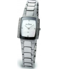 Skagen 688SSX Ladies Links Crystals Silver Glitz Watch