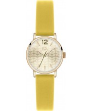 Orla Kiely OK2020 Ladies Frankie Yellow Leather Strap Watch