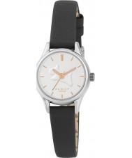 Radley RY2329 Ladies On The Run Black Leather Strap Watch