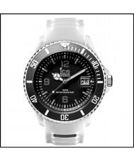 Ice-Watch SR.3H.WBK.BB.S.15 Mens Ice-Sporty Big White Silicone Strap Watch
