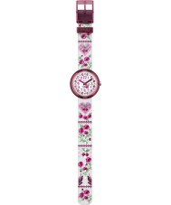 Flik Flak FPNP007 Girls Fiorissima Two Tone Watch