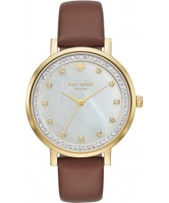 Kate Spade New York KSW1050 Ladies Monterey Brown Leather Strap Watch