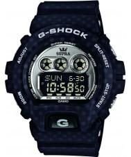 Casio GD-X6900SP-1ER Mens G-Shock World Time Black Digital Watch