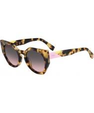 Fendi Facets FF 0151-S 00F EN Spotted Havana Sunglasses