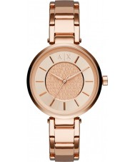 Armani Exchange AX5317 Ladies Urban Rose Gold Plated Bracelet Watch