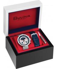 Bulova 96K101 Mens Chronograph C Watch Gift Set