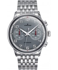 Junghans 027-3686-44 Meister Driver Silver Chronoscope Automatic Watch
