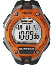 Timex T5K529 Mens Orange Black Ironman 30 Lap Oversize Sport Watch
