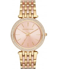 Michael Kors MK3507 Ladies Darci Two Tone Steel Bracelet Watch