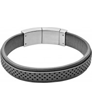 Skagen SKJM0029040 Mens Vinther Grey Leather Bracelet