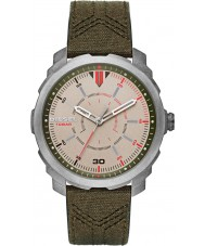 Diesel DZ1735 Mens Machinus Green Leather Strap Watch
