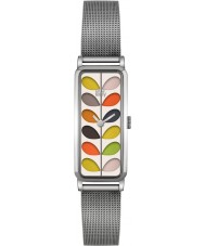 Orla Kiely OK4049 Ladies Stem Silver Steel Bracelet Watch