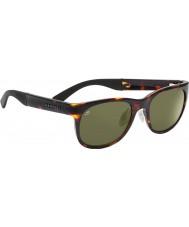 Serengeti Milano Dark Tortoiseshell Polarized 555nm Sunglasses