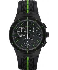 Swatch SUSB409 Laser Track Watch
