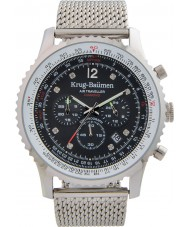 Krug-Baumen 612303DS Mens Air Traveller Diamond Watch