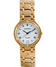 Krug-Baumen 5116KM Mens Charleston White Gold Watch