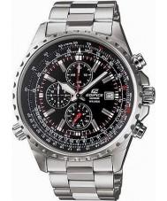 Casio EF-527D-1AVEF Mens Edifice Black Silver Chronograph Watch