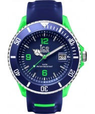 Ice-Watch SR.3H.BGN.BB.S.15 Mens Ice-Sporty Blue Silicone Strap Big Watch