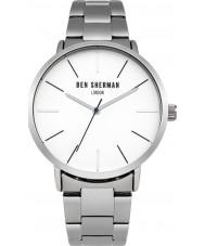 Ben Sherman WB054SM Mens Silver Steel Bracelet Watch