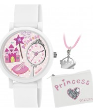 Tikkers Girls Princess 3D Watch Gift Set with Necklace and