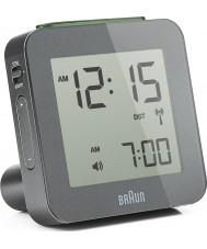 Braun BNC009GY-RC Grey Digital Alarm Clock