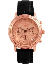 Krug Baümen 150577DL Principle Diamond Ladies Rose Gold Strap Watch