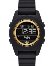 Adidas ADH2987 Calgary Black Rubber Chronograph Watch