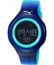 Puma PU910801030 Loop L Blue Silicone Strap Chronograph Watch