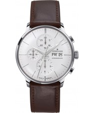 Junghans 027-4120-01 Meister Driver Brown Chronoscope Automatic Watch