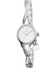 Radley Ladies Silver Twisted Vintage Half Bangle Watch
