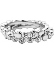 DKNY NJ1692040-505 Ladies Silver Ring - Size M.5