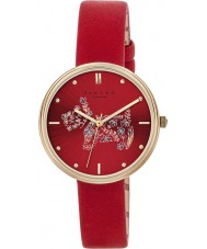 Radley RY2336 Ladies Rosemary Gardens Scarlet Leather Strap Watch